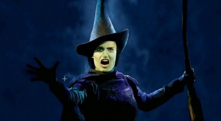 Idina Menzel as Elphaba